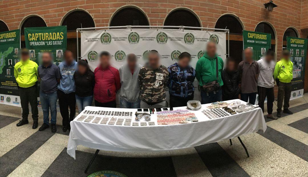 Capturados 12 distribuidores y vendedores de drogas de Envigado - Caracol Radio