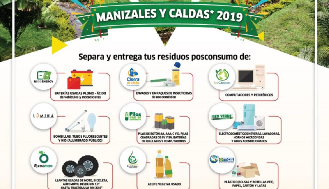 En Caldas se realizará una jornada de recolección de residuos posconsumo - Caracol Radio