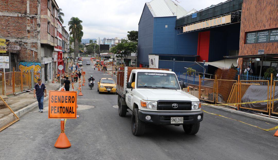 Habilitan un tramo de la avenida San Jerónimo en Pereira - Caracol Radio