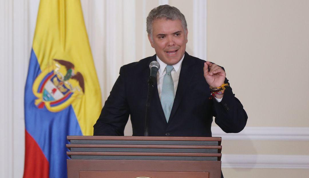 Resultado de imagen para imagen de Duque colombia