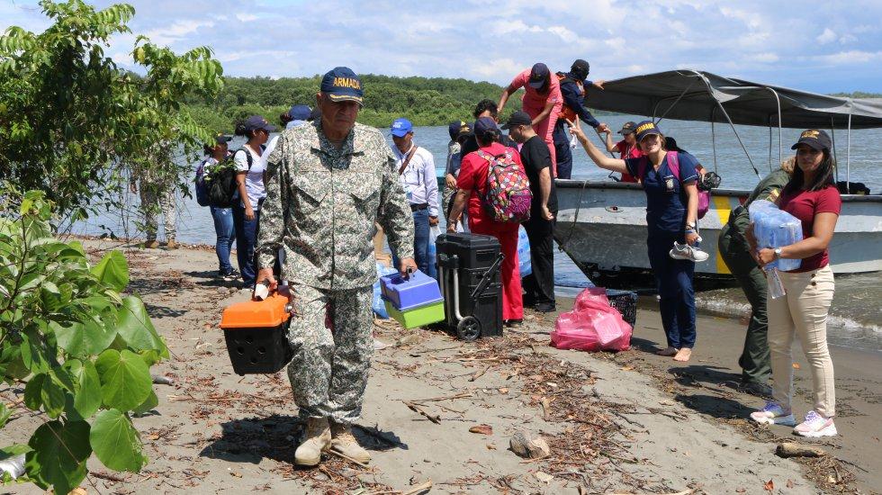 Navegando al Corazón del Pacífico: [Fotos] Punta Soldado, el corregimiento del pacífico con 480 habitantes