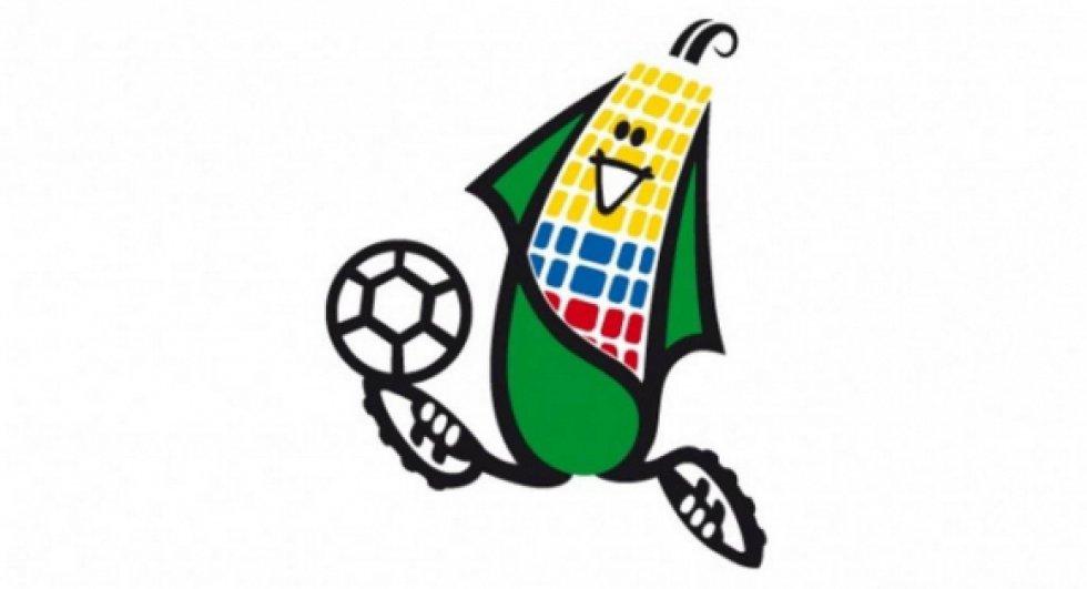 Mascota de la Copa América Ecuador 1993. Era una mazorca con los colores de la bandera de Ecuador.