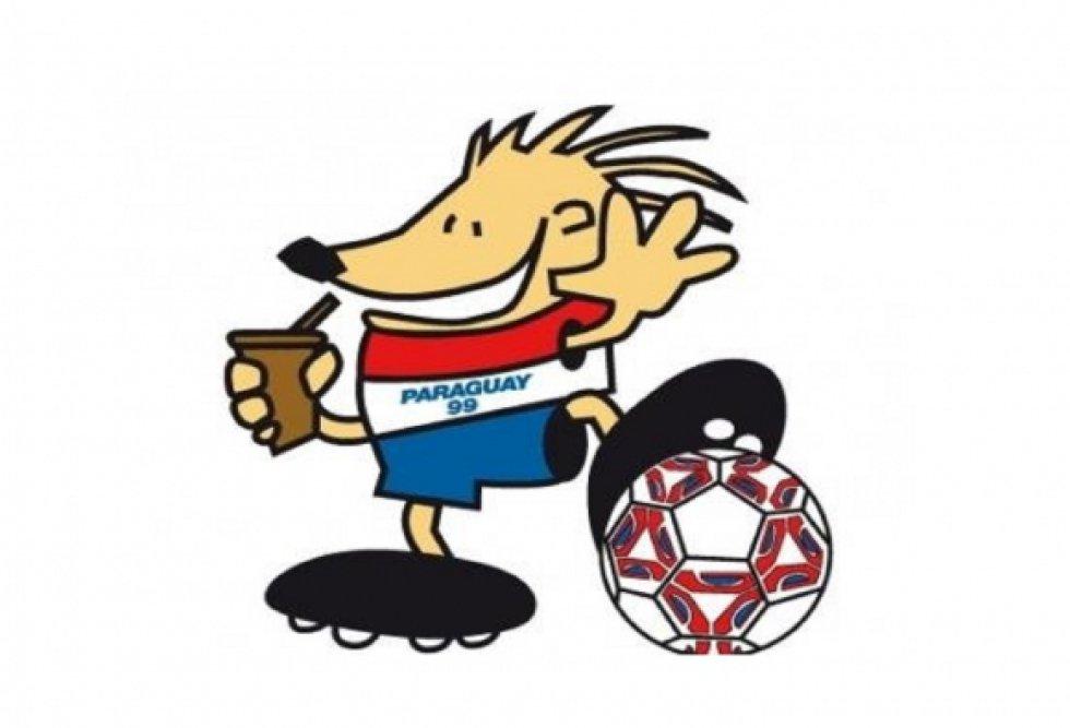 Mascota de la Copa América de Paraguay 1999. Era un pecarí chaqueño, especie que estaba en vía de extinción y llevaba un tereré. Estaba vestido con los colores de Paraguay.
