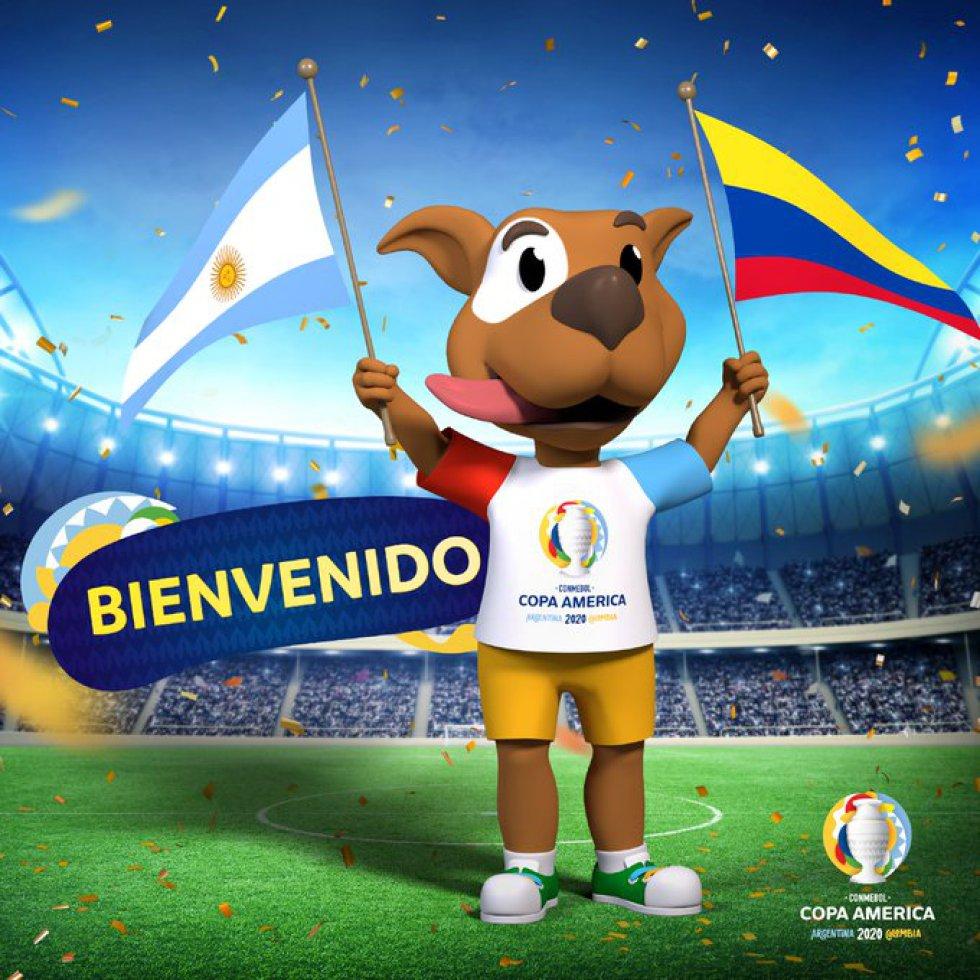 Será la mascota de la Copa América 2020. Se trata de un homenaje a la diversidad de razas de perros que hay en el continente sudamericano