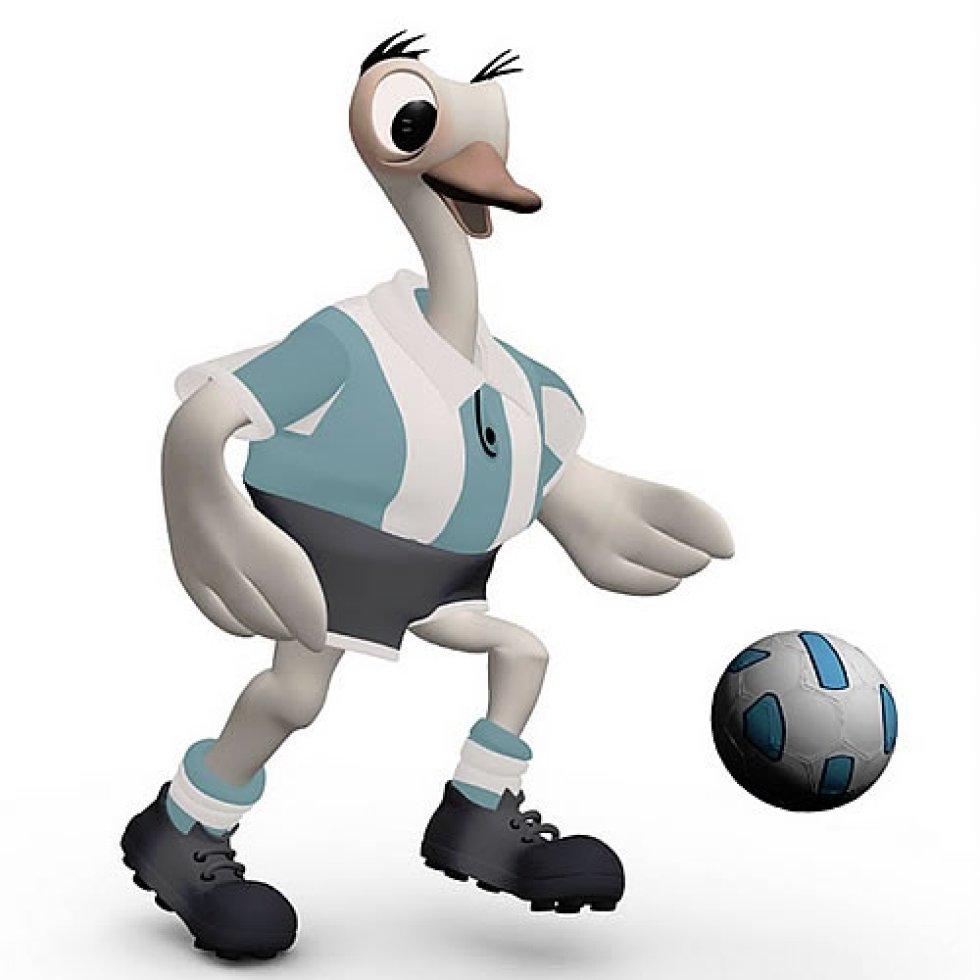 Mascota de la Copa América Argentina 2011. Era un Ñandu con uniforme de la Selección Argentina. Su nombre era una mezcla entre el tango y el golero.