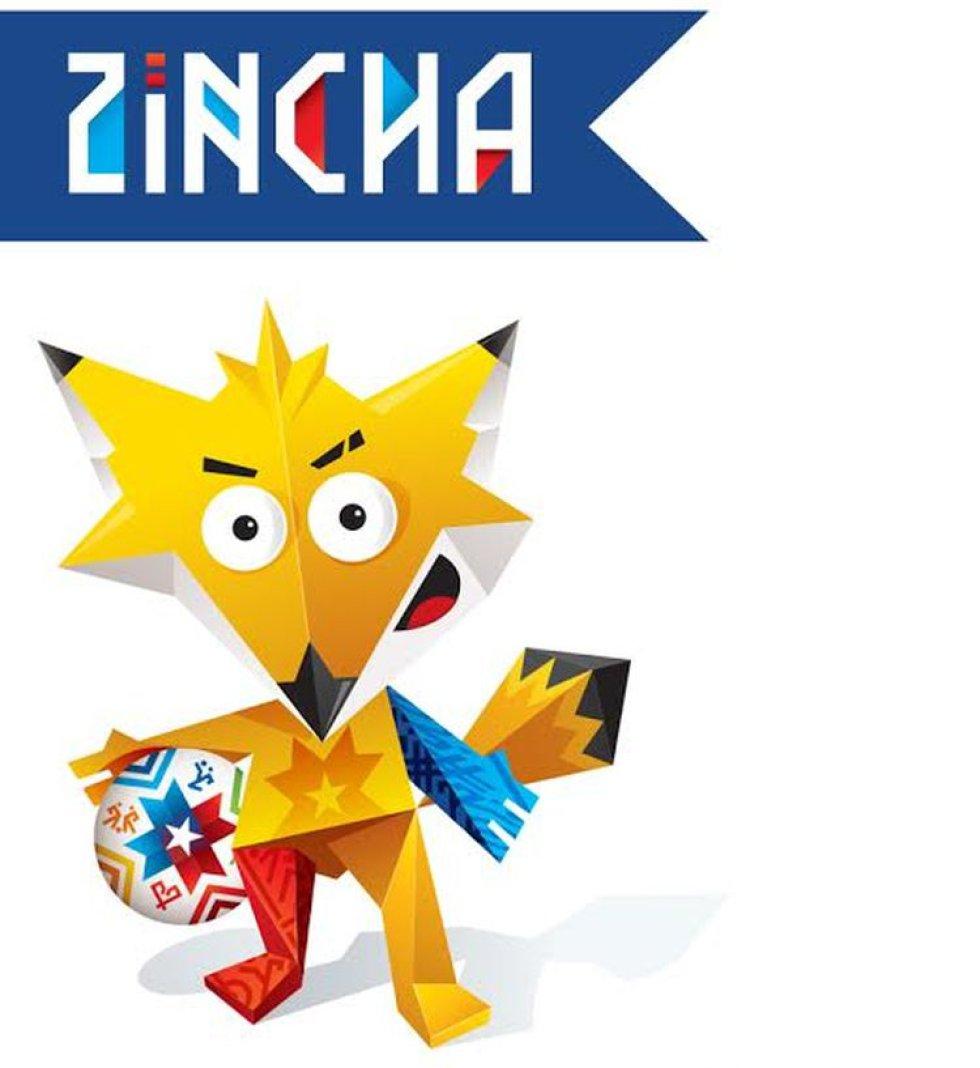 Mascota de la Copa América Chile 2015. Era un zorro representado en origami.