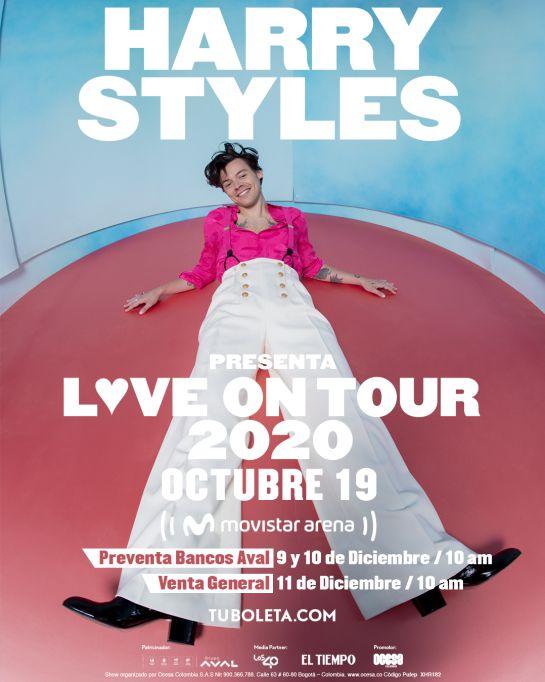 Fechas del concierto de Harry Styles en Bogotá: Harry Styles se presentará por primera vez en Bogotá