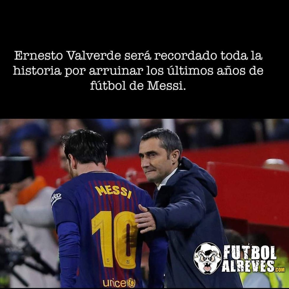 Supercopa España FC Barcelona 2-3 Atlética de Madrid Messi Memes Valverde: Los mejores memes de la eliminación del Barcelona ante el Atleti