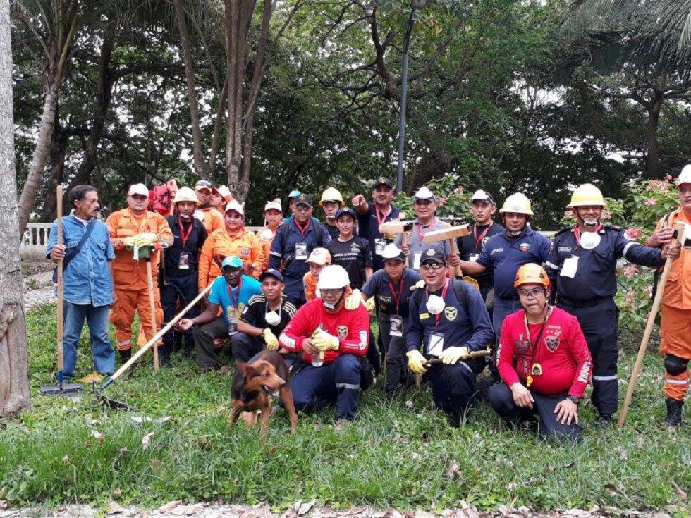 En Fotos: capacitación de los bomberos de Arauca: En Fotos: capacitación de los bomberos de Arauca
