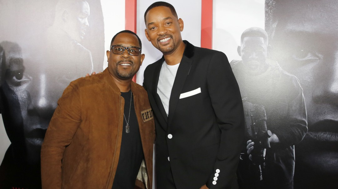 A ritmo de mariachi Will Smith y Martin Lawrence promocionan 'Bad Boys lll'