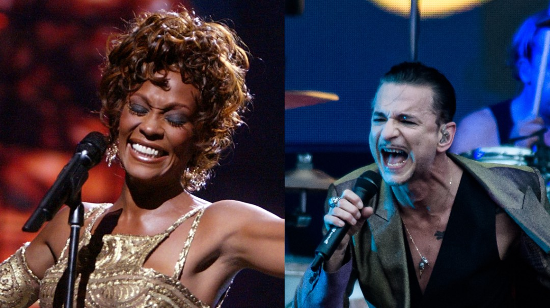 Whitney Houston y Depeche Mode al Salón de la Fama del Rock & Roll