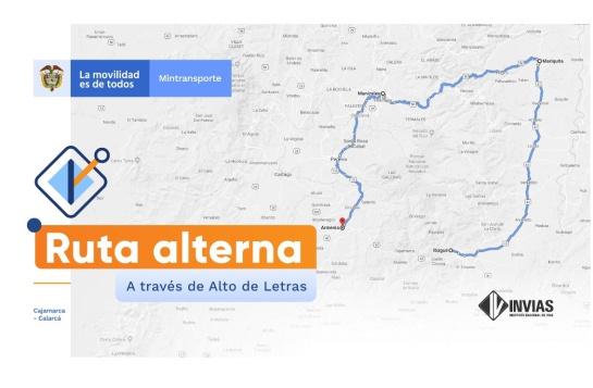 Por seis meses vía La Línea presentará cierres nocturnos