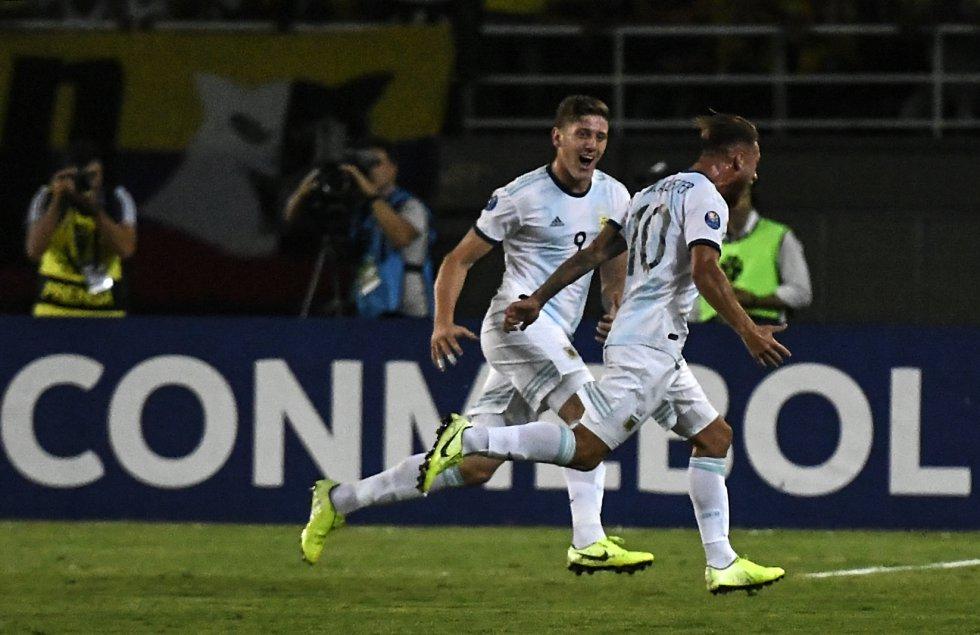Fotogalería Colombia Argentina: Las mejores imágenes del juego Colombia - Argentina en el Preolímpico