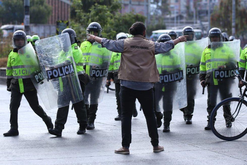 Grupo de derechos humanos hace presencia