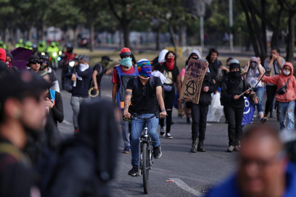 Movilización Autopista Sur con Villavicencio