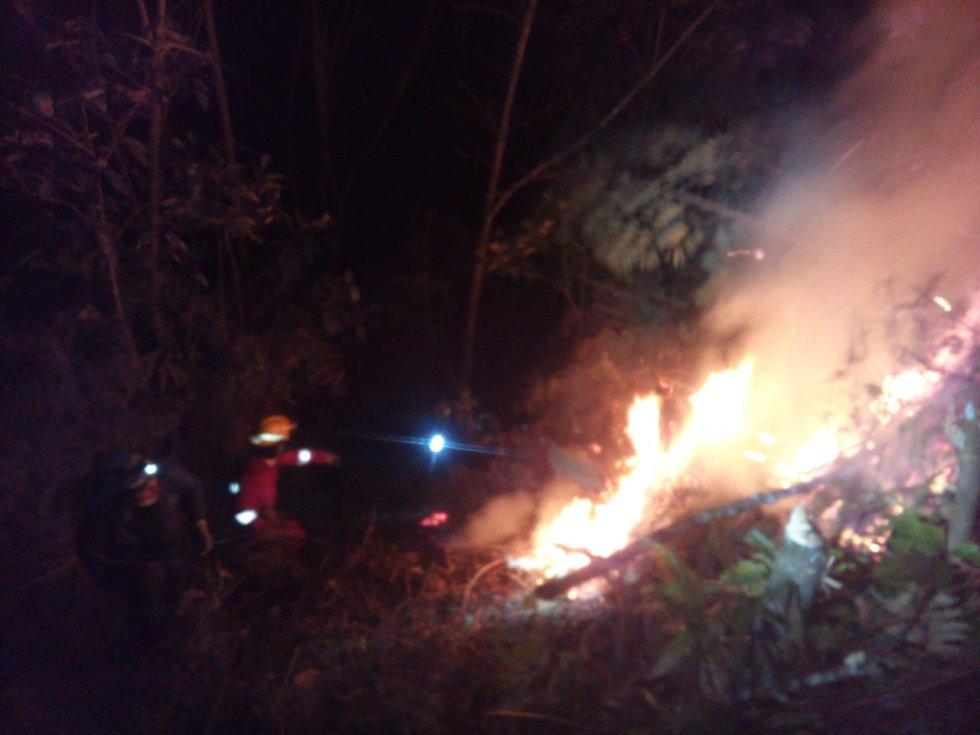Así previenen los incendios en Samaná, Caldas: Así previenen los incendios en Samaná, Caldas