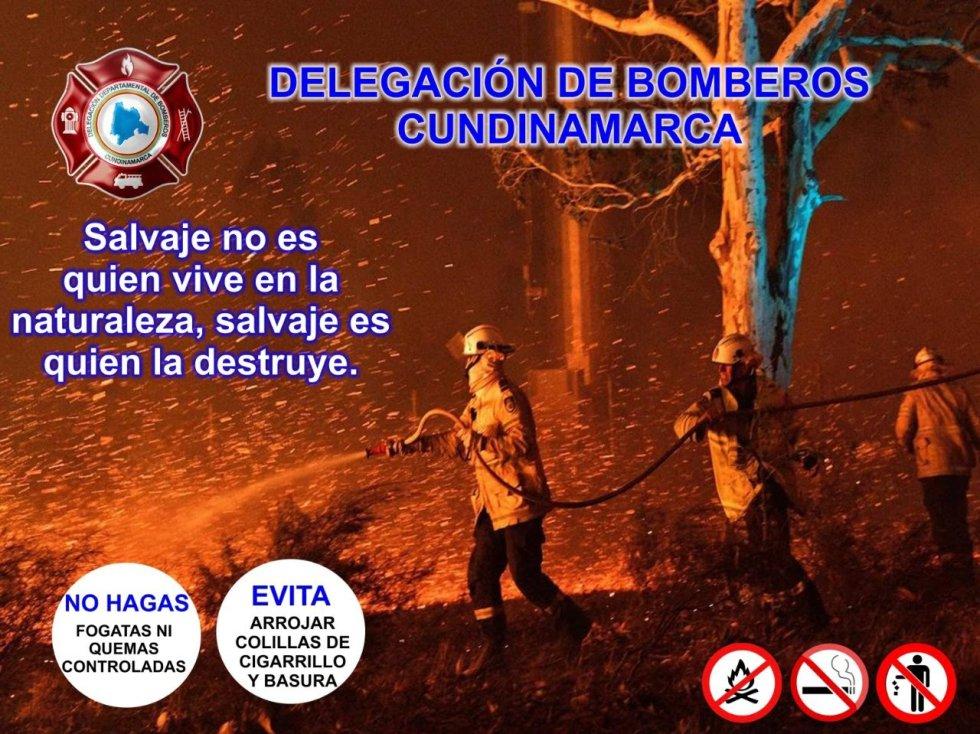 En Venecia, Cundinamarca, previenen las quemas: En Venecia, Cundinamarca, previenen las quemas