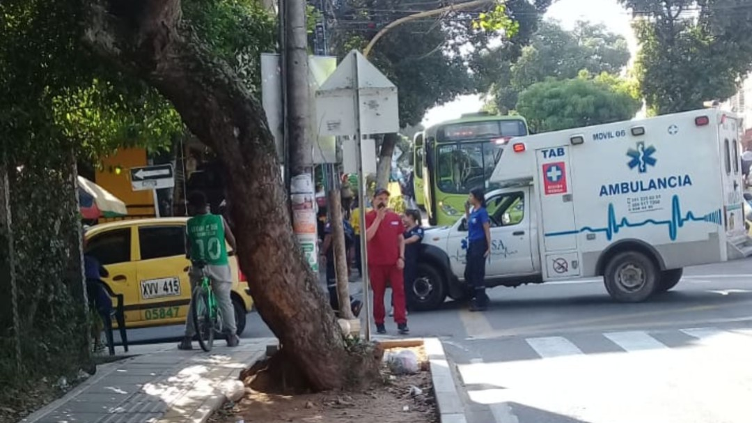 Reportan otro accidente generado por ambulancias