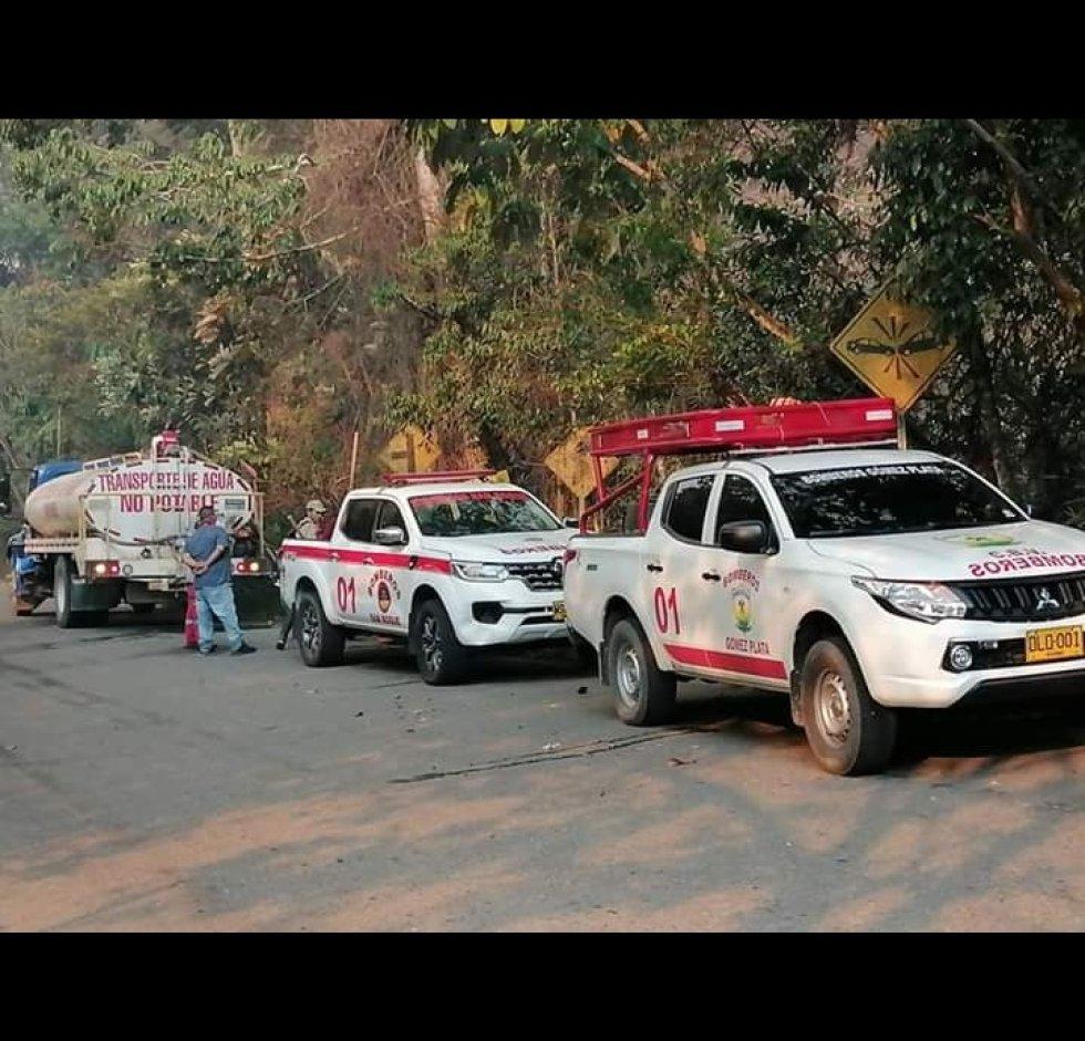 En Santo Domingo se preparan para prevenir incendios forestales: En Santo Domingo se preparan para prevenir incendios forestales