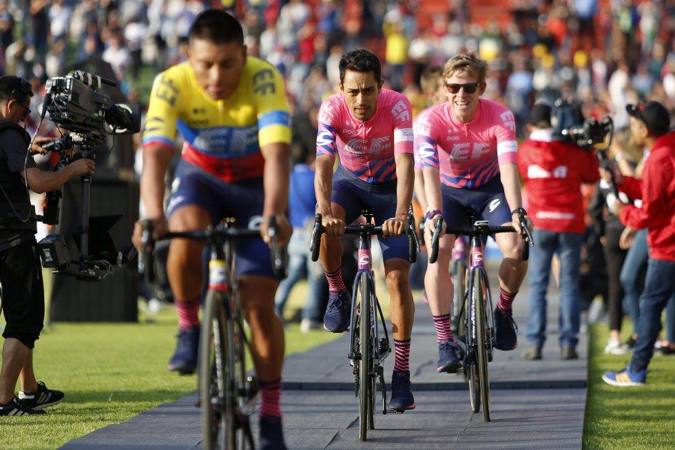 Presentación Tour Colombia 2020: Así se vivió la presentación de los equipos del Tour Colombia