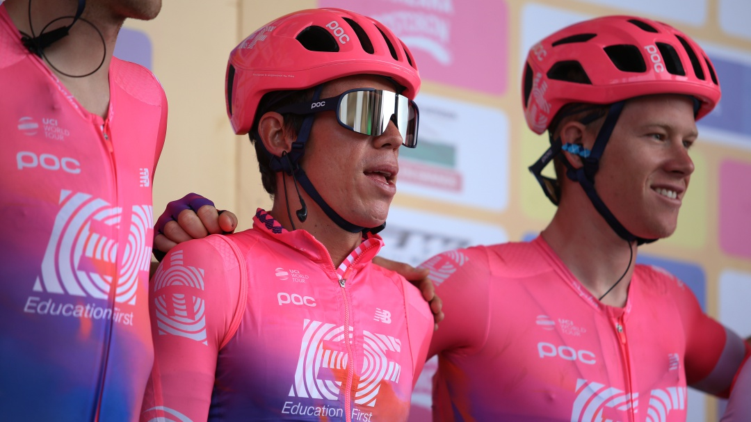 La primera etapa del Tour Colombia 2.1 fue para el Education First