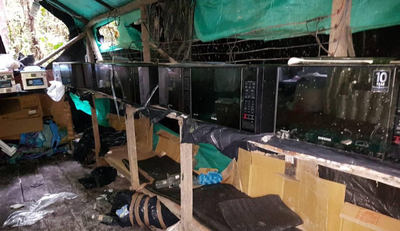 Narcotráfico: Caballerizas se adecuaron como dormitorio para cuidar  laboratorio de coca | Judicial | Caracol Radio