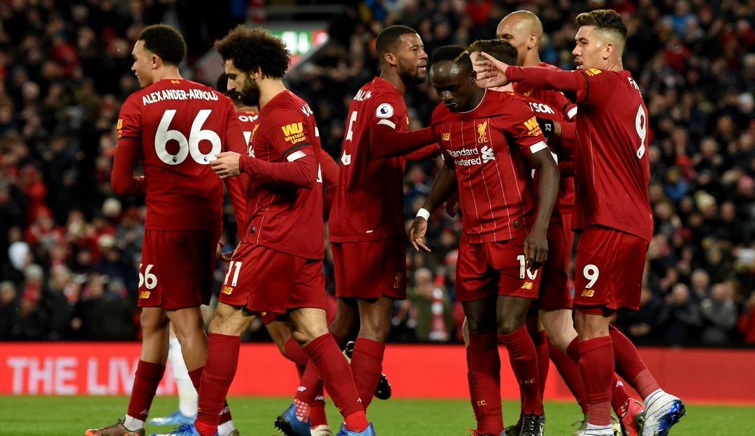 Liverpool 3-2 Manchester City Liga Premier 18 victorias consecutivas: Liverpool superó el susto e igualó el récord del Manchester City | Deportes  | Caracol Radio