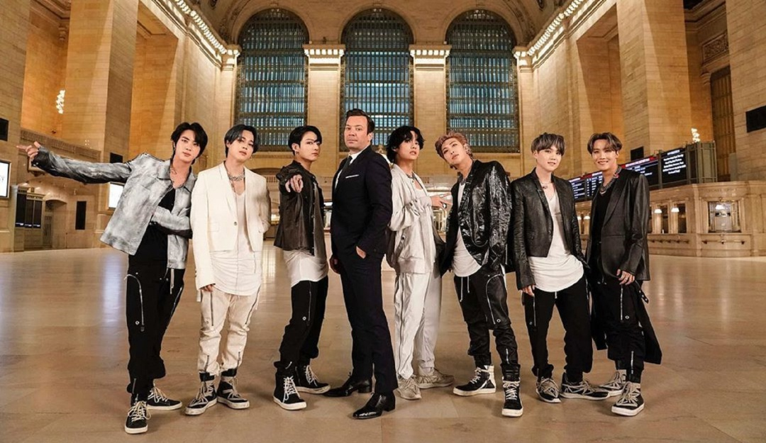 BTS Tonight Show Jimmy Fallon: Integrantes de BTS se suben al metro de Nueva York con Jimmy Fallon