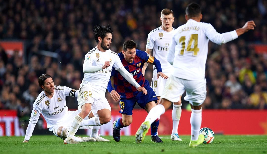 Real Madrid Barcelona Clásico La Liga: Real Madrid Vs. Barcelona, un Clásico que puede definir La Liga | Deportes  | Caracol Radio