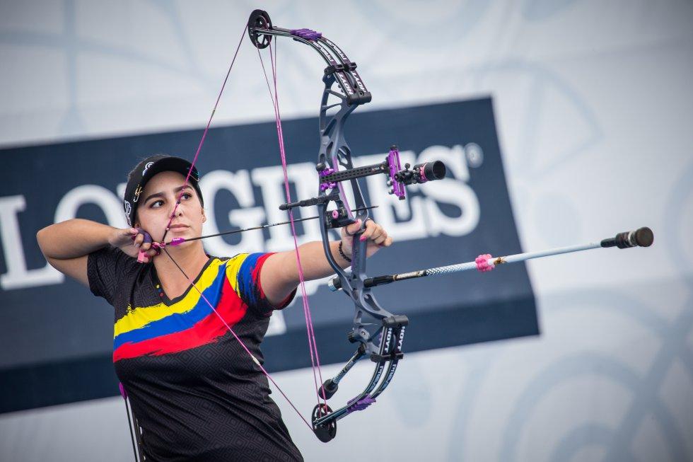 Tiro con arco - Ha sido medalla de oro en los Juegos Panamericanos (2019) y cinco veces campeona mundial en la modalidad de arco compuesto