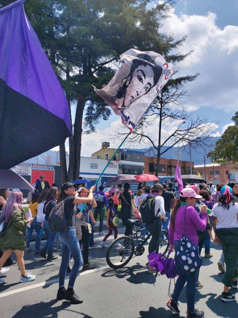 Las mujeres se toman las calles de Bogotá