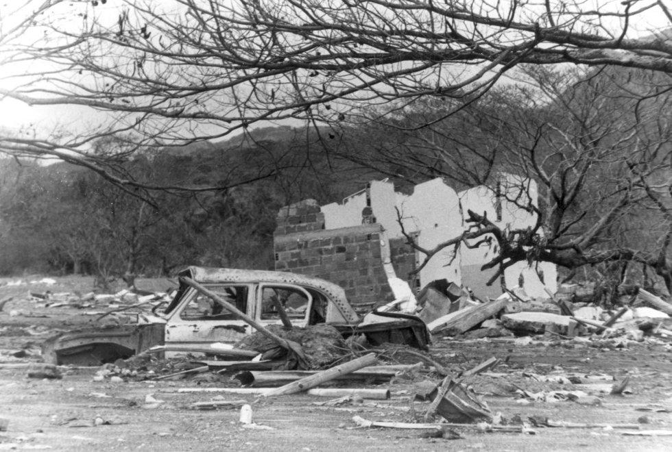 La destrucción de la fuerza de la naturaleza en 1985 cobró la vida de más de 23.080 habitantes de este pueblo tolimense.  El lamentable hecho ocurrió tras la erupción del Volcán Nevado del Ruíz, actualmente lleva más de 69 años inactivo, habitantes del reconstruido pueblo aseguran ser testigos de varios sucesos paranormales.