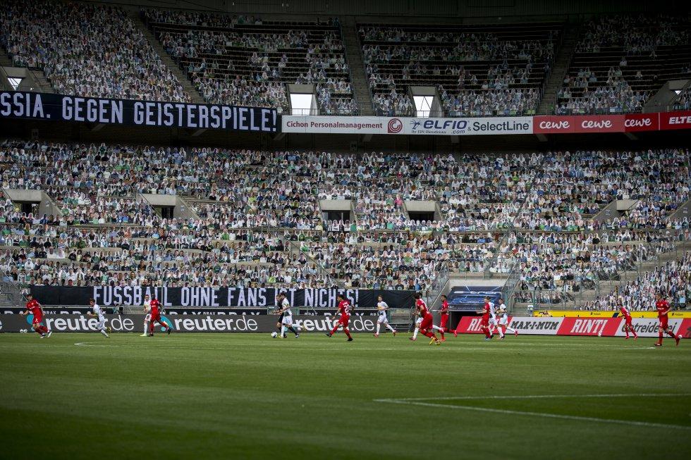 El partido entre el Mönchengladbach y el Bayer Leverkusen terminaría 3-1 a favor de la visita.