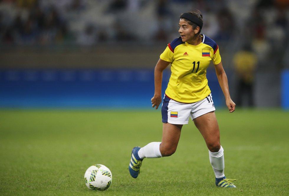 Más de 50 anotaciones en las diversas categorías con la Selección Colombia la convierten en la goleadora histórica de la 'Tricolor'.