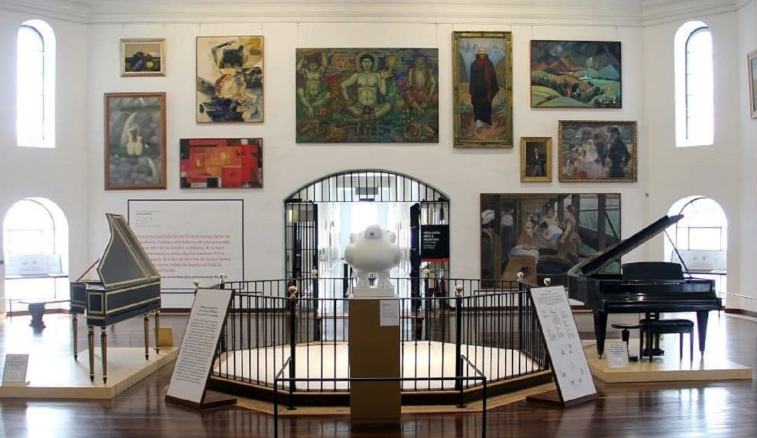 El Museo Nacional de Colombia fue creado en 1823, y es uno de los más antiguos de América.