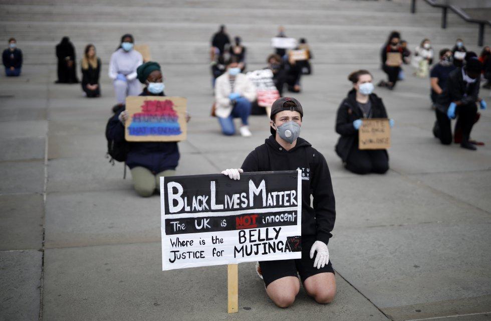 Cientos de personas protestan en contra del racismo