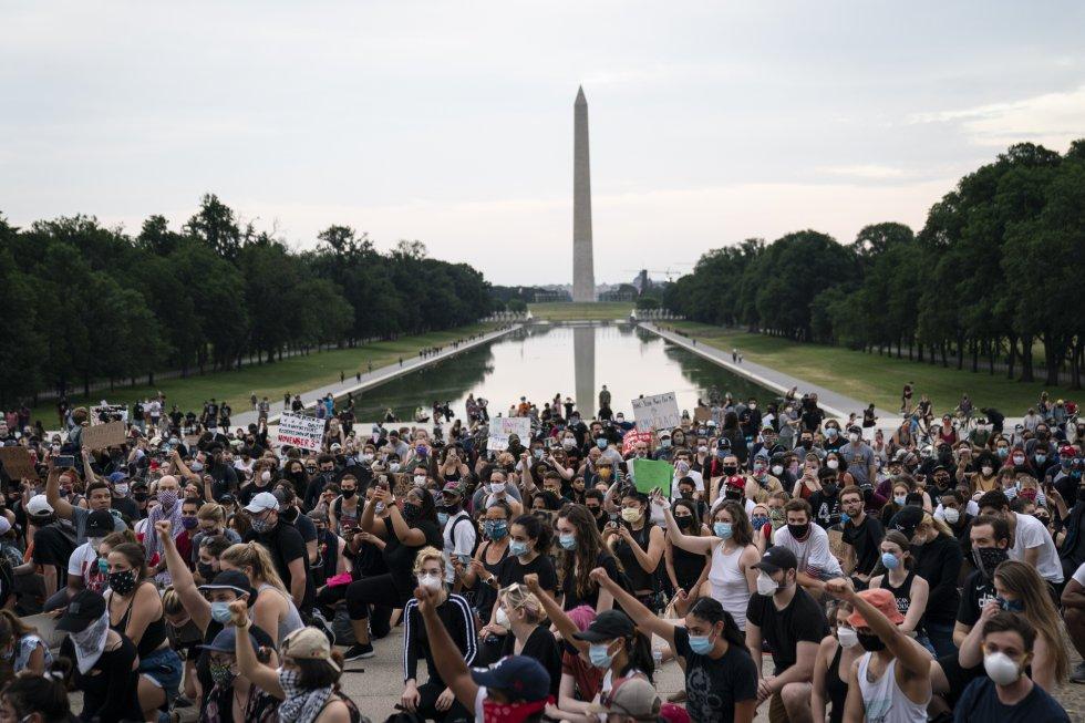 Protestas en contra de la discriminación racial