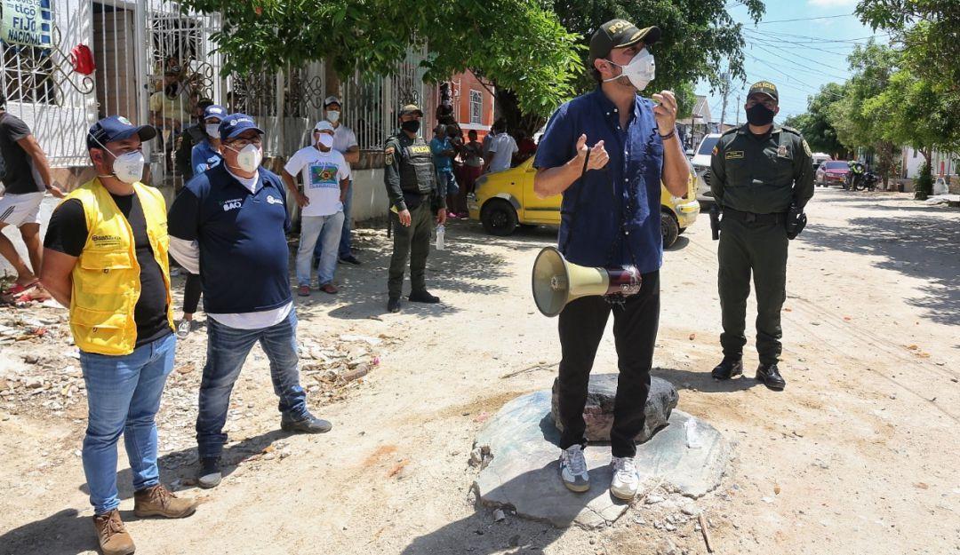 Cuarentena en Barranquilla: Quien incumpla aislamiento será retenido hasta por 24 horas: Pumarejo