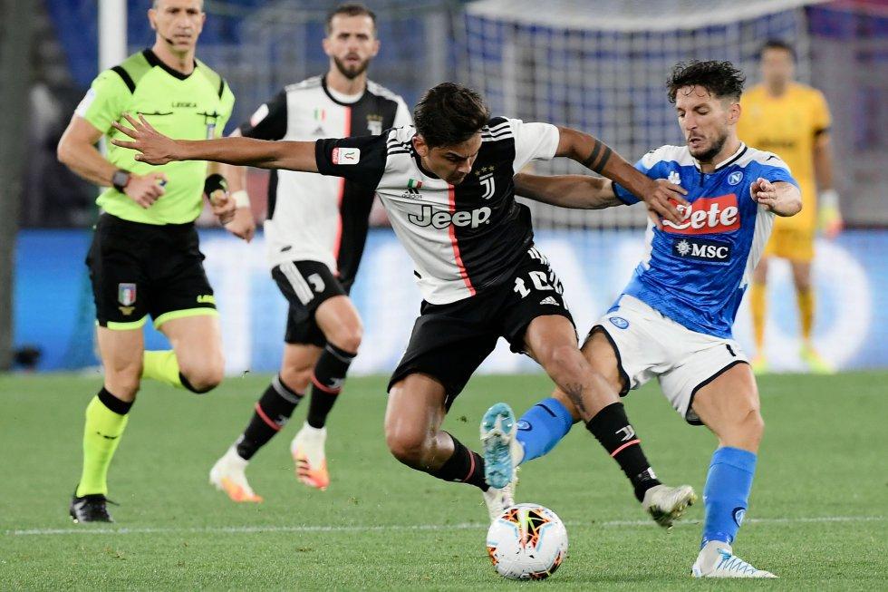 Napoli fue el equipo que más lo intentó y el que tuvo las opciones más claras, sin embargo, no pudo vulnerar el arco de Buffon. Por ello, el partido se definió desde los cobros del punto de penal.