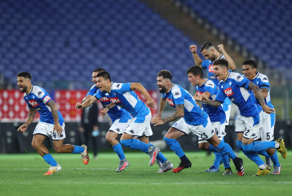 Con un triunfo 4-2 en los penales, Napoli volvió a ganarle la partida a la Juventus, luego de que viniera de vencerlo 2-1 en la fecha 21 de la Serie A.