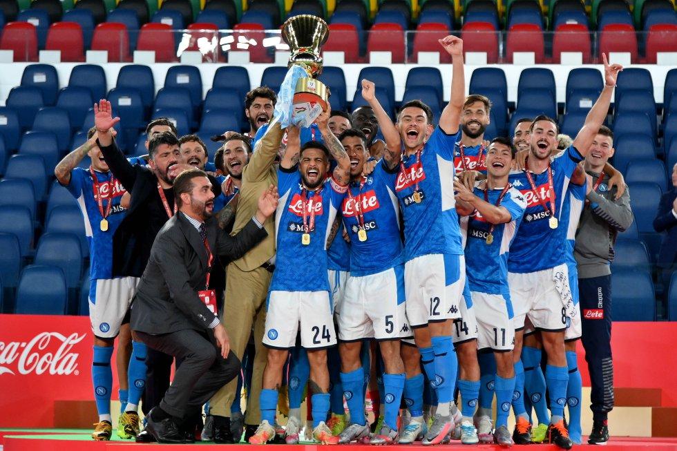 ¡Nueva conquista en la Copa Italia para el Napoli! El equipo dirigido por Gennaro Gattuso alzó su sexto trofeo en esta competición.