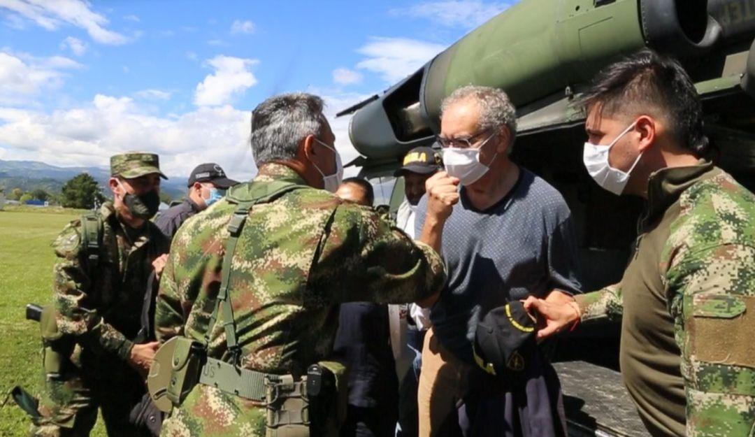 Liberación extranjeros en Cauca: Rescatados extranjeros ...