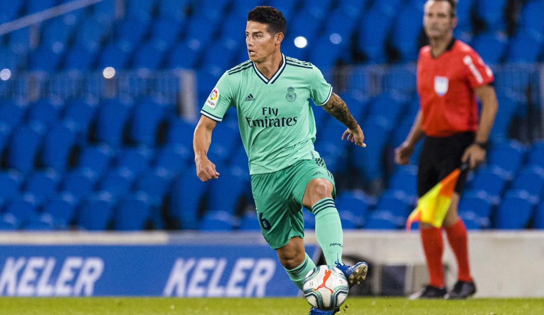 """James positivo Real Madrid: """"Es positivo volver a jugar después de ..."""