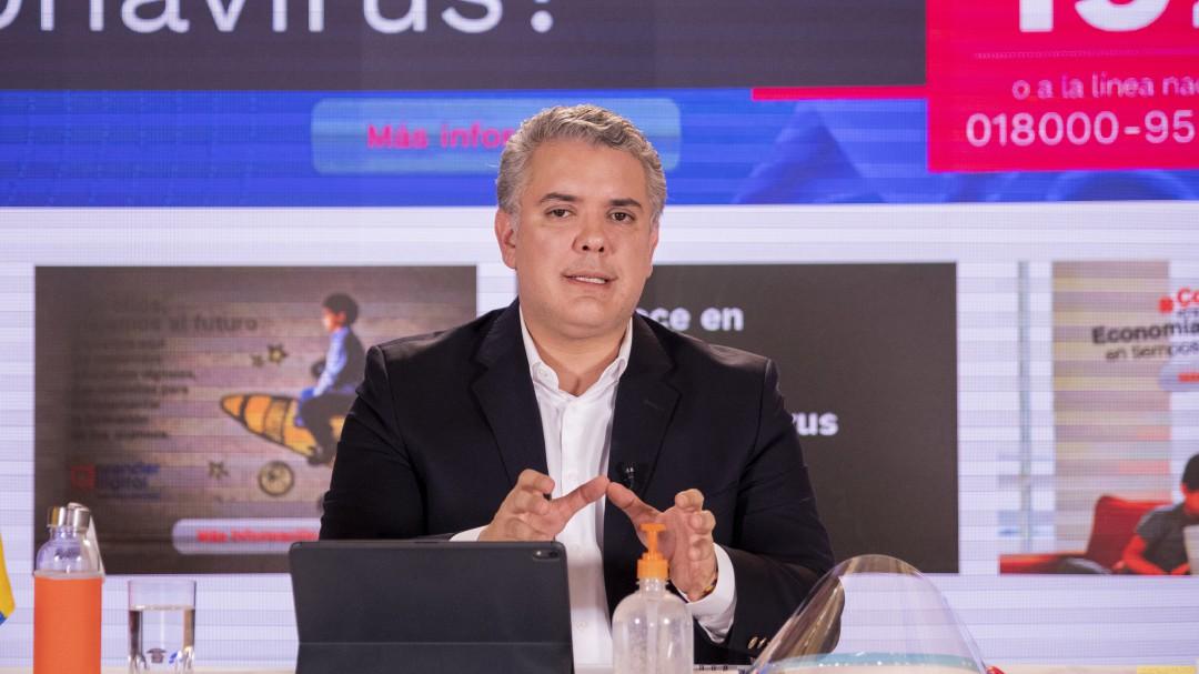 Iván Duque habla sobre las medidas para afrontar el coronavirus