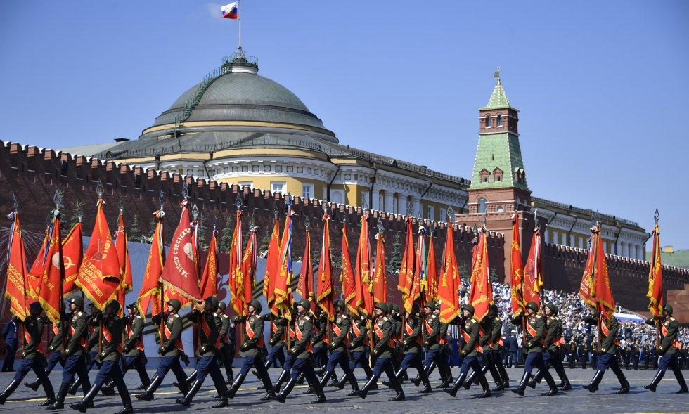 Aniversario número 75 del triunfo de la Unión Soviética sobre la Alemania Nazi, durante la Segunda Guerra Mundial.