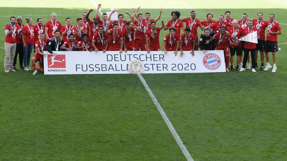 Bayern Munich título: Así celebró el Bayern Munich su octavo título consecutivo en la Bundesliga