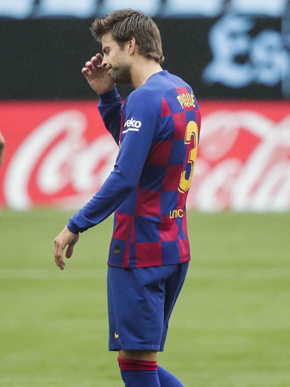 Barcelona Vs Celta Fecha 32 Liga Española: ¿Se escapó la Liga? Los rostros que dejó el empate de Barcelona ante Celta