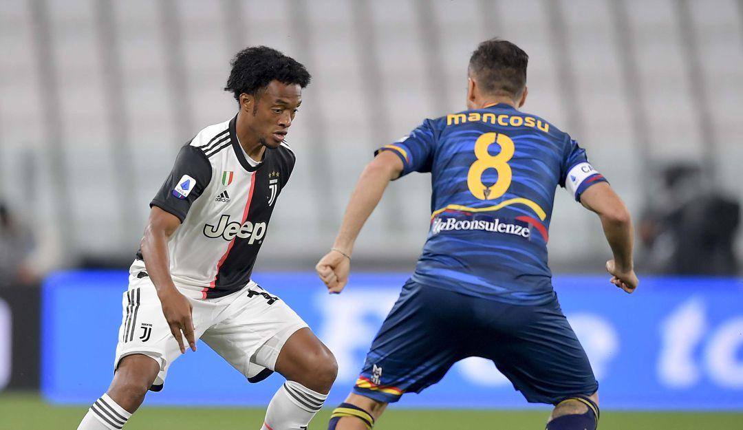 Juventus Vs Lecce Resultado y resumen fecha 28 Serie A: Juventus, con Cuadrado en cancha, se afianzó en el liderato de la Serie A | Deportes  | Caracol Radio