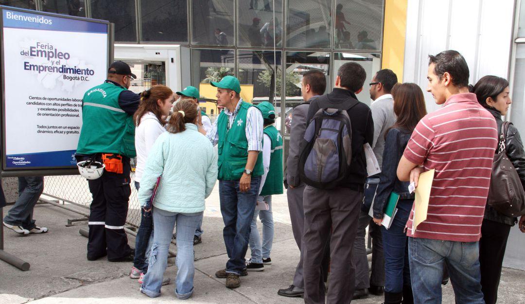 En mayo el desempleo en Colombia fue del 21,4%