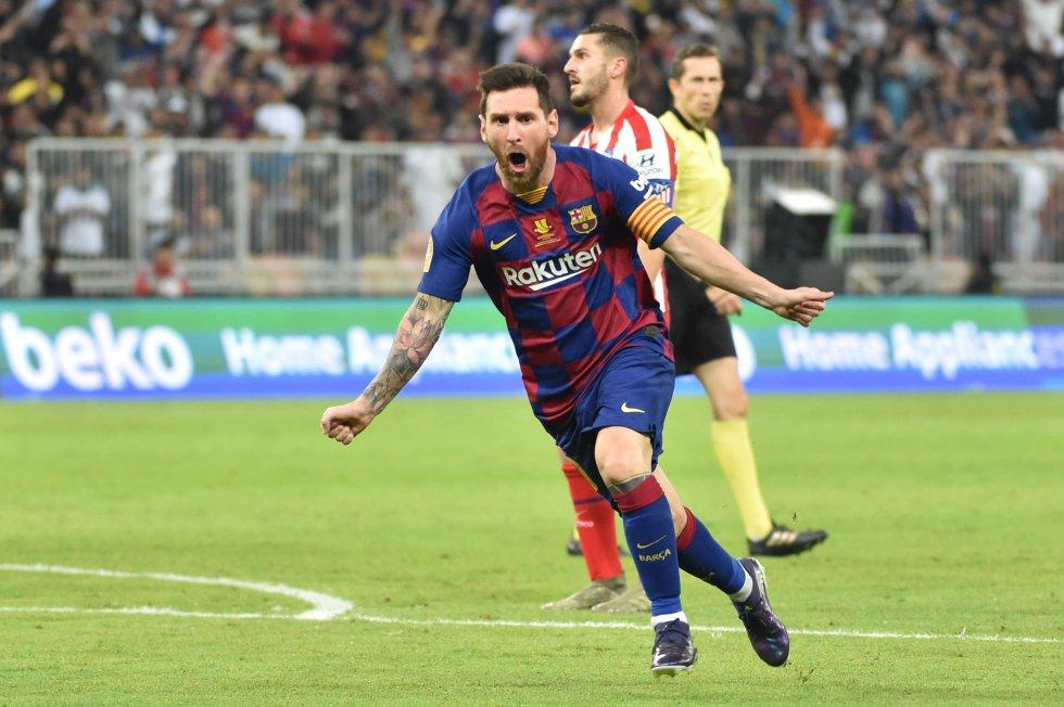 Con el reciente tanto ante el Atlético de Madrid, marcando de penalti al estilo Panenka, alcanzó las 32 anotaciones en en 41 partidos disputados ante el conjunto 'Colchonero', ratificándolo como una de sus víctimas favoritas.
